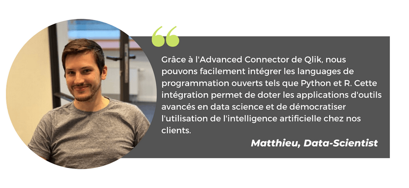 Qlik consultant Matthieu