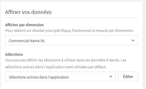 Qlik Sense Data Alerts illustration affiner vos données